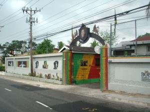 10. Entrance to Bob Marley's Museum, Jamaika