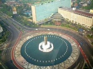 23. Bundaran Hotel Indonesia, Indonesia