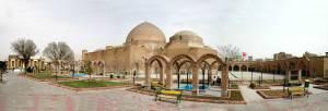 41. The Blue Mosque. Tabriz, Iran