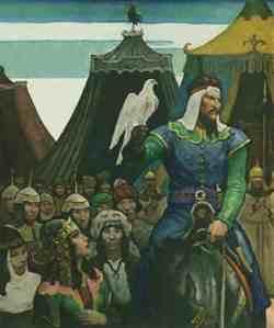 Jengis Khan dan Rajawali