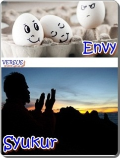 Envy Versus Syukur
