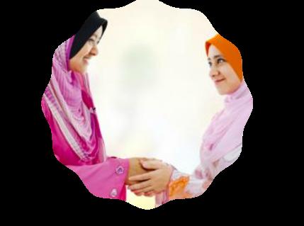 handshake when visit