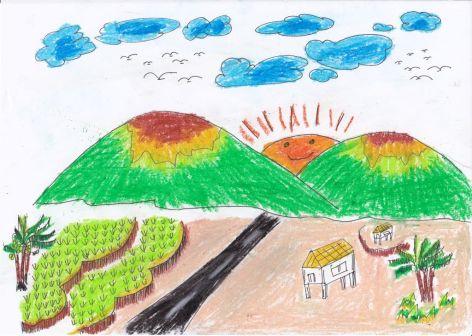 gambar-gunung-karya-anak-sd